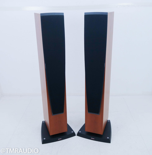 Dynaudio Contour S 3.4 Floorstanding Speakers; Cherry Pair w/ Tweeter Upgrade