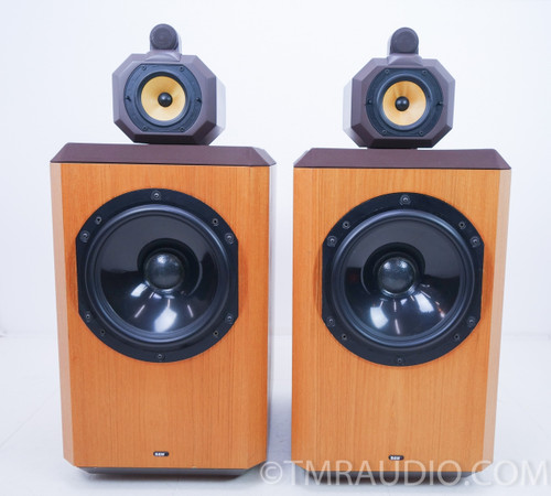 B&W 801 Series 80 Vintage Speakers; Pair Brown Teak; Bowers & Wilkins