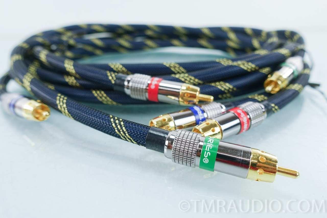 Tributaries Silver Component Video Cables; 3 meters - The Music Room