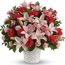 Sweetest Love Funeral Basket