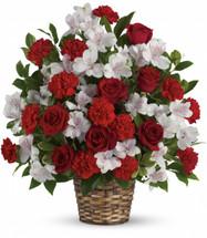 Beloved One Funeral Basket