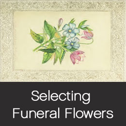 Selecting the right sympathy flowers