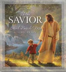 If the Savior Stood Beside Me (Board Book) *