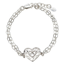 CTR Bracelet (Silver Heart) *