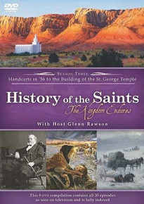 History of the Saints, Season Three: The Kingdom Endures (DVD) *