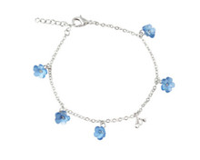 Forget-Me-Not Flowers CTR Bracelet (Accessory) *
