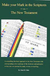 Make Your Mark in the Scriptures in the New Testament  (Paperback) *