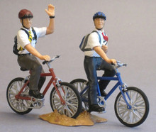 "Missionay Action Figure Set, #5: Missionaries on Bicycles (3"" Vinyl)"