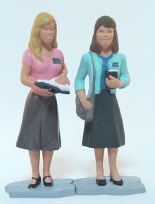 Sister Missionaries Action Figure Set #7 (Vinyl)