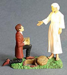 Joseph Receives the Plates from Angel Moroni (Action Figure)