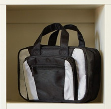 Hunter Gray and Black Tote *