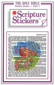 Scripture Stickers Holy Bible Part 1 *