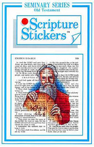 Scripture Stickers Seminary Old Testament *