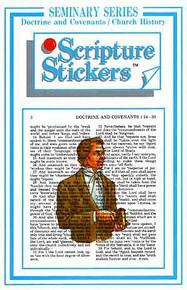 Scripture Stickers Seminary D&C/Church History *
