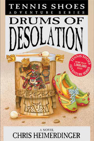 Tennis Shoes Adventure Series: Drums of Desolation (Book on CD)