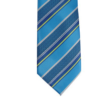 Boys CTR Royal Blue Stripe Clip Tie
