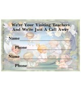 Refrigerator Magnets - Visiting Teachers Contact Information *