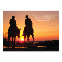Joseph & Hyrum Sunset  5x7 Print only *