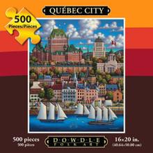 Puzzle Québec City 500 pcs.