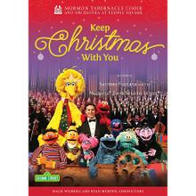 Mormon Tabernacle Choir:  Keep Christmas With You (DVD)