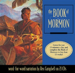 The Book Of Mormon CDs Audio on Compact Discs LDS Audiobook 23 Latter-day Saints
