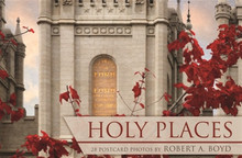Holy Places Postcard Book *