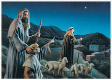 Come Ye To Bethlehem 5x7 Print by Simon Dewey  *
