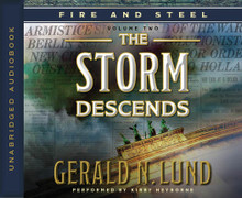 Fire and Steel Vol 2: The Storm Descends (Book on CD) *
