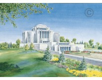 Cardston Alberta Temple Recommend Holder *