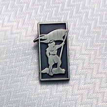 Captain Moroni Nickel Pin *