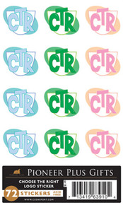 CTR New Design - Acid Free Stickers *