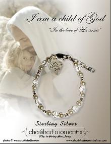 Child of God Bracelet with sm Heart Charm*