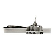 Calgary Alberta Temple Tie Clip Silver *