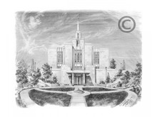 Calgary Alberta Temple Recommend Holder *