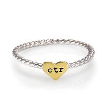 Heart Strings CTR Ring (Stainless Steel)