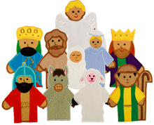 Nativity Finger Puppets*