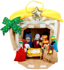 Soft Nativity Manger *