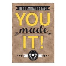 Seminary Graduation Card *