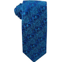 Missionaries on Bikes Aqua Blue Men`s Tie ages 14 +