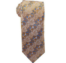 Missionaries on Bikes Gold and Gray Men`s Tie ages 14 +