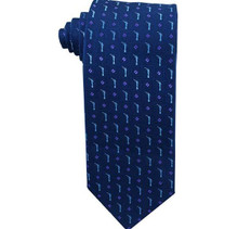 Navy Angel Moroni Men`s Tie ages 14 +