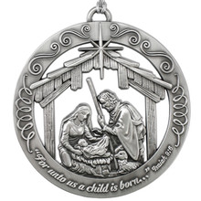 Nativity Ornament  *