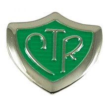 CTR Pin Green Shield *