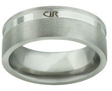 """Alpha"" Stainless Steel CTR Ring   *"