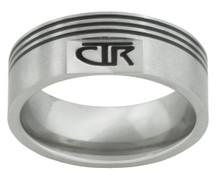 """Pivot"" Stainless Steel CTR Ring CTR Ring   *"