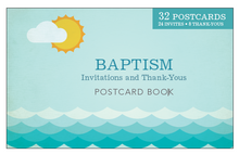 Baptism Announcement Postcards *