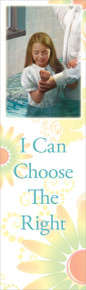 I Can Choose the Right (girl) bookmark *