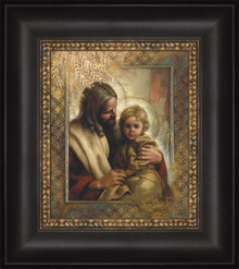 Great in the Sight of God 12x14 framed strata design *
