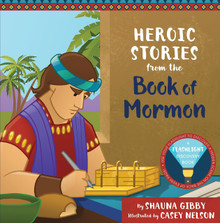 Heroic Stories from the Book of Mormon: A Flashlight Discovery Book (Hardcover) *