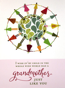 A Grandmother Like You (Greeting Card)*